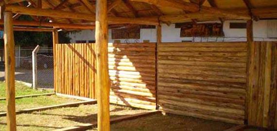 maderas para techos cabaas